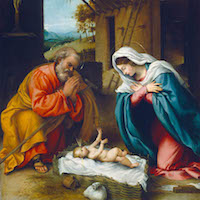 Lorenzo Lotto, The Nativity, 1523