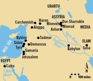 assyrian-empire-map
