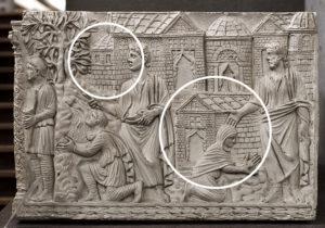 ith Traditio Legis in the Vatican Grottoe