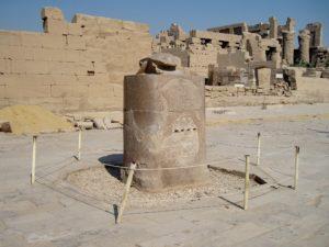 Scarab at the Temple of Amun at Karnak