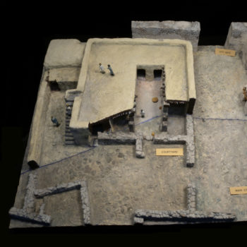 Model of typical Pillared House