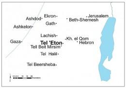 tel-eton-map
